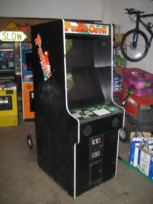 Punch Out cabinet plans.