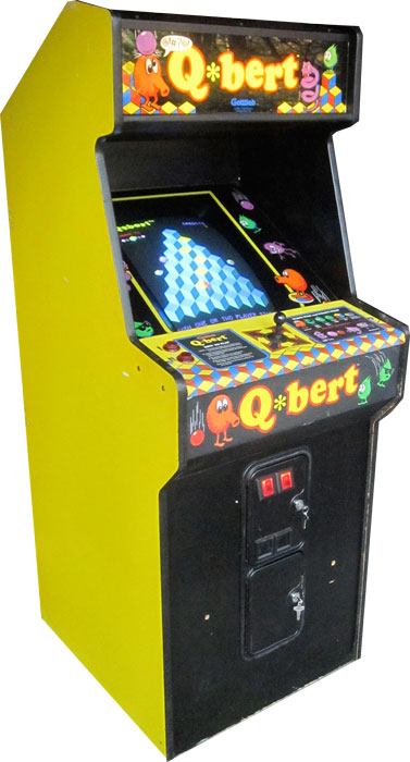 qbert_large donkey kong arcade game collector arcade cabinet arcade  at reclaimingppi.co